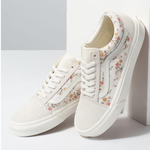 Vans Shoes | Vintage Old Skool Floral